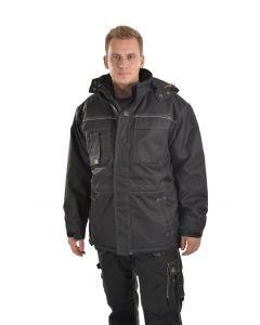 OCEAN Modena Jacket Black Water Resistant Black L